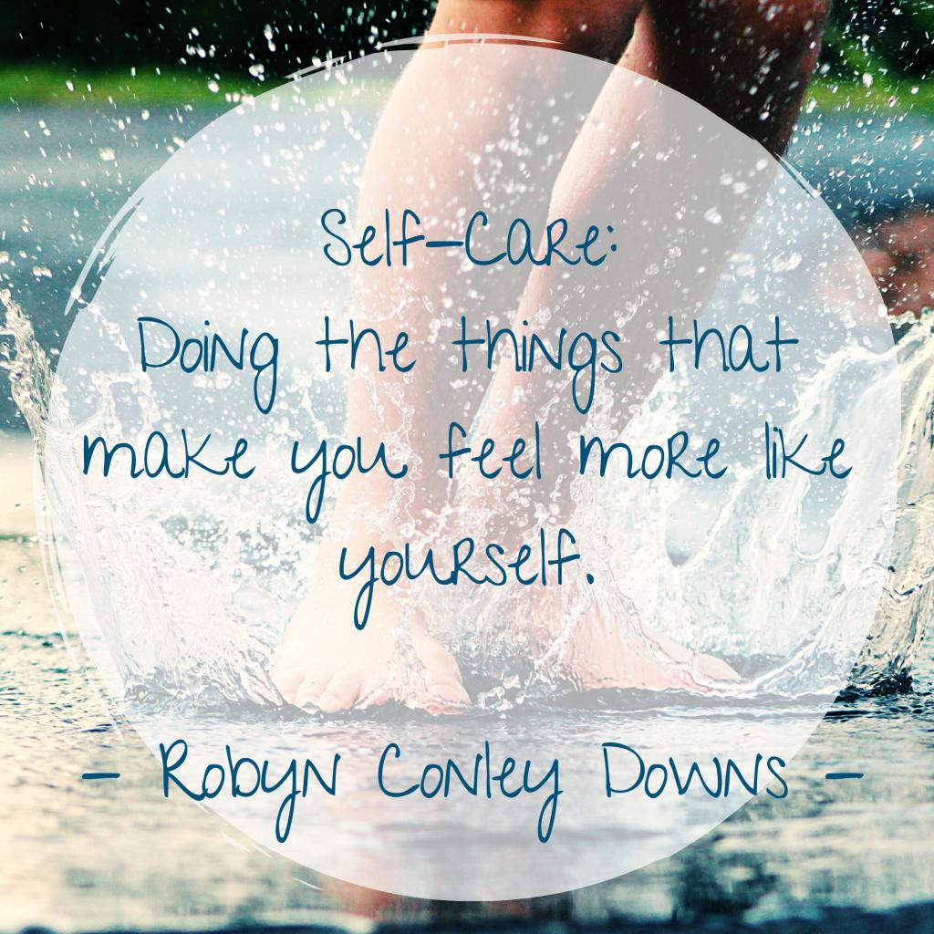 Zitat Selbstfürsorge, Dinge tun, die einen glücklich machen
